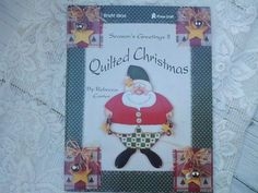 Quilted Christmas by Rebecca Carter by CrazyDeeDee on Etsy