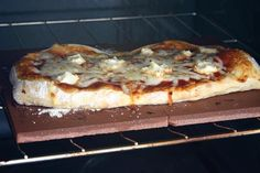 Floor tiles as a pizza stone.  I wouldn't repurpose, but use new or leftover from a project.