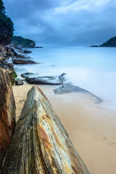 Wattamolla Beach, Royal National Park, Sydney, Australia ~ Photo by Rodney Campbell