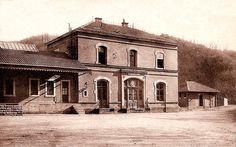 Gare de Masevaux pendant la 1ère guerre mondiale