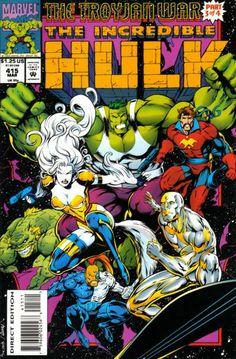 Incredible Hulk # 415 by Gary Frank  Cam Smith