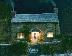 "Kate Winslet's cottage in ""The Holiday"""
