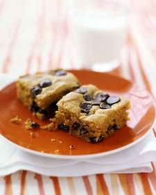 Pumpkin-Chocolate-Chip Squares, Recipe from Martha Stewart Living Special Issues, 2006