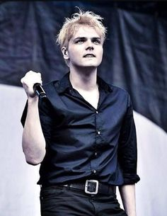 Gerard Way, otherwise known as mY LITERAL DADdy