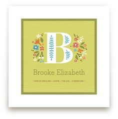 Personalized Nursery Wall Art | Minted