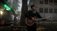 https://flic.kr/p/y7m8Wb | Strumming in the Rain | inFAMOUS: Second Son  Feel free to join:  PS4 PhotoMode