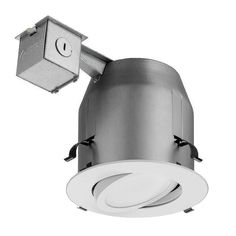 Lithonia Lighting LK5GMW LED M4 1 Light LED Recessed Kit White Recessed Lights Trim and Housing Package LED  sc 1 st  Pinterest & Cree 6 in. TW Series 65W Equivalent Soft White (2700K) Dimmable LED ...