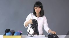 A comprehensive video demonstration of KonMari Folding! Here's how to fold clothes using the KonMari Method so that they stand upright to save more space in . Organizar Closets, Organiser Son Dressing, Folding Socks, Konmari Method Folding, Konmari Methode, Cleaning Closet, Cleaning Tips, Kendo, Tidy Up