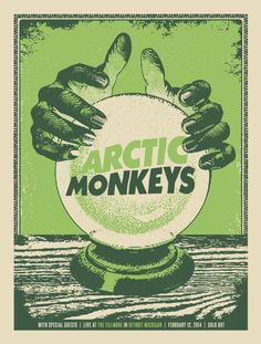 Music bands posters arctic monkeys 45 ideas for 2019 Room Posters, Poster Wall, Poster Prints, Gig Poster, Rock Band Posters, Illustration Photo, Vintage Music Posters, Oldschool, Photo Wall Collage