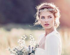 Romantic Decorative Wedding Hair Adornment, Wedding headpiece, Bridal headpiece, Alexandria Roman Style Bridal Headpiece #GD1037
