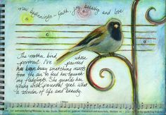 visual blessings: Art Journaling Magazine Article, Free Demo & Upcoming Workshop