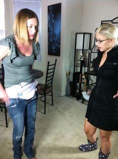 Panties pulled down spanked diapered