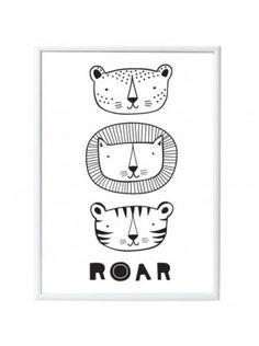 Veggspjöld - Roar