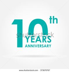 Find 10 Years Anniversary Icon Template Celebration stock images in HD and millions of other royalty-free stock photos, illustrations and vectors in the Shutterstock collection. Anniversary Logo, 10 Year Anniversary, Typography Logo, Logo Branding, Club Design, Logo Design, 10 Logo, Mountain Logos, Website Logo
