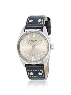 Torgoen Men's Watch. $135. 60% off. [was $335]. #menswatches #italian #style #fashion #dapper #classic