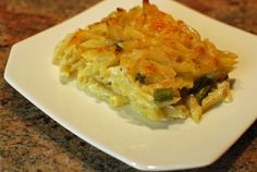Simple Four Cheese and Asparagus Mac and Cheese - The Food in My Beard