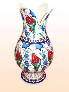 Anadolu Çini Tile Art, Art Object, Ceramic Art, Vase, Ceramics, Decoration, Home Decor, Easter Crafts, Pottery