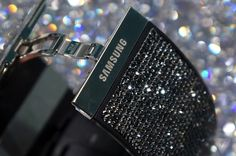 "Samsung Gear S - 'Swarovski' edition ""Bling"" bands (pic 4 of 4) scream of opulence..."