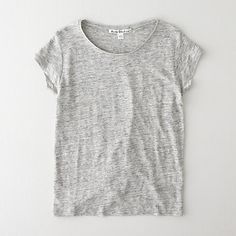 COPY LINEN TEE by Acne Tee