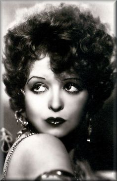 "Clara Bow. Flapper and ""It"" Girl"