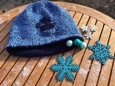 Schöne Wendemütze für Männer oder Frauen in Dunkelblau 100% Alpaca und blaumeliert Acryl. Alpaca, Knitted Hats, Beanie, Knitting, Fashion, Dark Blue, Breien, Woman, Nice Asses