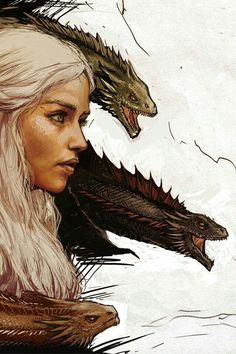 Game of thrones fanart wallpaper. Khaleesi, Mother of Dragons. Dessin Game Of Thrones, Game Of Thrones Artwork, Game Of Thrones Facts, Game Of Thrones Dragons, Got Game Of Thrones, Game Of Thrones Funny, Daenerys Targaryen, Khaleesi, Dragon Wallpaper Iphone