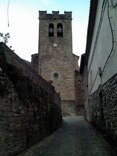 #viajar #travel #aragon aragón #huesca #broto #iglesia #church