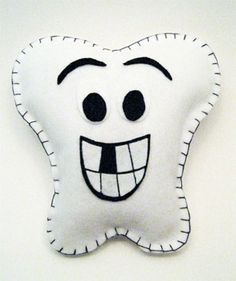 Toothfairy pillow. DIY