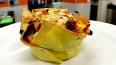 Una lasagnetta tutta italiana,con una rivoluzionaria besciamelle senza burro