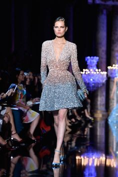 The Best Looks from the Couture Fall Winter 2015 Runway - Elle Ellie Saab