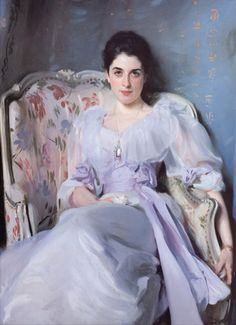 Portrait of Lady Agnew of Locknaw, John Singer Sargent, 1892 (Scottish National Gallery, Edinburgh, Scotland)