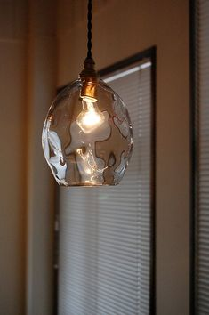 Glass Pendant Light, Glass Pendants, Light Bulb, Ceiling Lights, Lighting, Interior, Living Room, Home Decor, Decoration Home