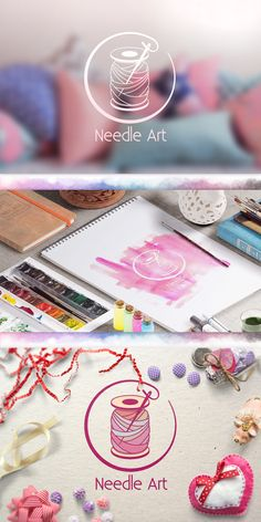 Logo design: Needle Art