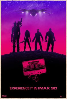 Nieuwe IMAX-poster 'Guardians of the Galaxy'