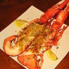 Simple Stuffed Lobster