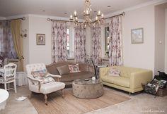 Living room design in Kiev