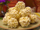 Paula Deen Popcorn Balls - Ashley had this at Compton Initiative and said it was delicious!