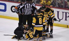 No hearing for Matt Niskanen for hit on Sidney Crosby = Washington Capitals defenseman Matt Niskanen earned himself a five-minute major and a game misconduct during Monday night's game against the Pittsburgh Penguins after delivering a cross-check to the head of Penguins captain Sidney Crosby. Crosby missed the remainder of the game, and his…..