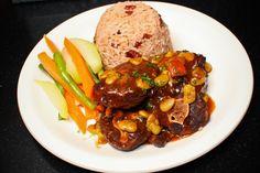 Oxtail w/ Rice & peas