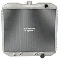 "22/"" Wide Core 1963 1964 1965 1966-69 Dodge Station Wagon 4 Row WR Radiator"
