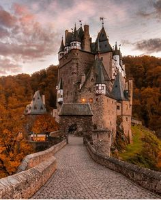 Eltz Castle - Germany Picture by check out his awesome feed! - via Wonderful Places on : Amazing Destinations - International Tips - Dream - Exotic Tropical Tourist Spots - Adventure Travel Ideas - Luxury and Beautiful Resorts Pictures by Chateau Medieval, Medieval Castle, Places To Travel, Places To See, Travel Destinations, Best Summer Holiday Destinations, Travel Around The World, Around The Worlds, Voyager Loin