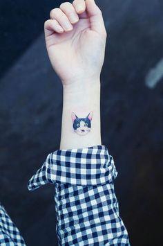 tatuajes de gatos para mujeres