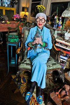Iris Apfel Talks Street Style with StyleCaster | StyleCaster
