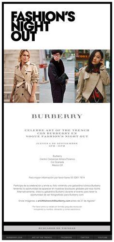 BURBERRY en la FNO 2012 en Antara Fashion Hall