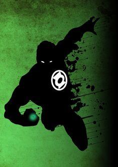 Green Lantern by Ryan Hamilton