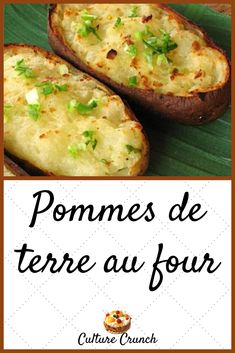 Discover recipes, home ideas, style inspiration and other ideas to try. No Salt Recipes, Cooking Recipes, Healthy Recipes, Fondant Potatoes, Potatoes In Oven, Always Hungry, Baked Potato, Entrees, Food And Drink