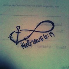 we have this hope as an anchor for the soul- hebrews 6:19 anchor tattoo idea for my wrist?