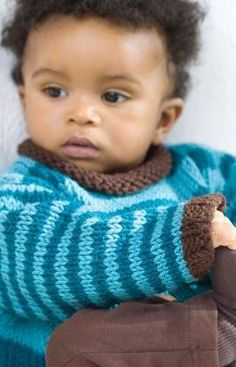 Free Knitting Pattern - Toddler & Children's Clothes: Hug Me Pullover