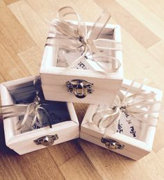Thank You Gifts, Happy Day, Wedding Inspiration, Wedding Ideas, Our Wedding, Decorative Boxes, Gift Wrapping, Weddings, Friends