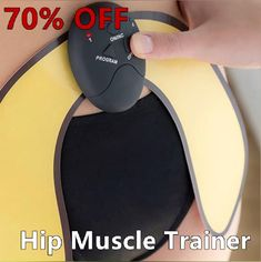 The Buttock Toner Muscle Trainer helps you build, shape and strengthen your gluteal muscles and hips and reduces cellulite! Butt Workout, Gym Workouts, At Home Workouts, Gluteal Muscles, Hip Muscles, Reduce Cellulite, Fitness Workout For Women, Useful Life Hacks, Tips Belleza